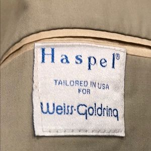 Haspel -Weiss Goldring Suits & Blazers - Haspel Tailored Weiss-Goldring Men's 2pc Suit